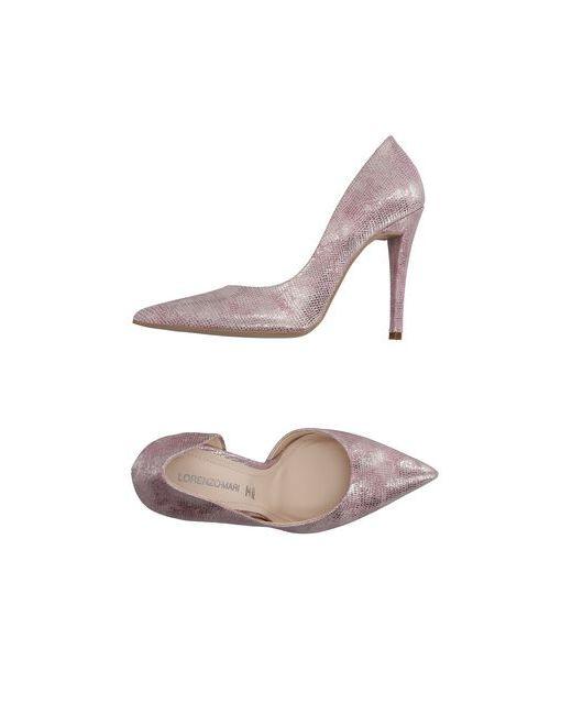 Lorenzo Mari | Женские Розовые Туфли