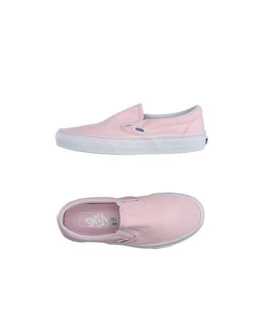 Vans | Женские Розовые Низкие Кеды И Кроссовки