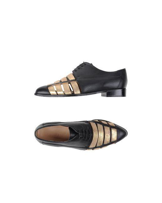 ANOTHER PROJECT   Мужская Чёрная Обувь На Шнурках