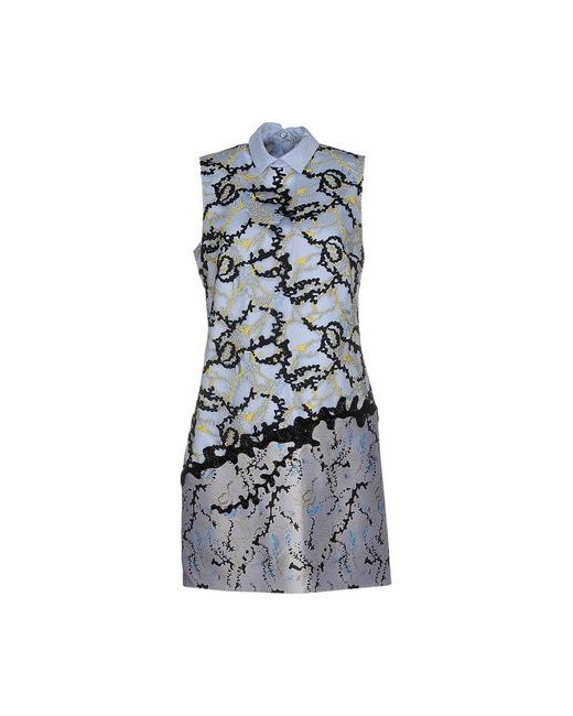 Mary Katrantzou | Женское Голубое Короткое Платье