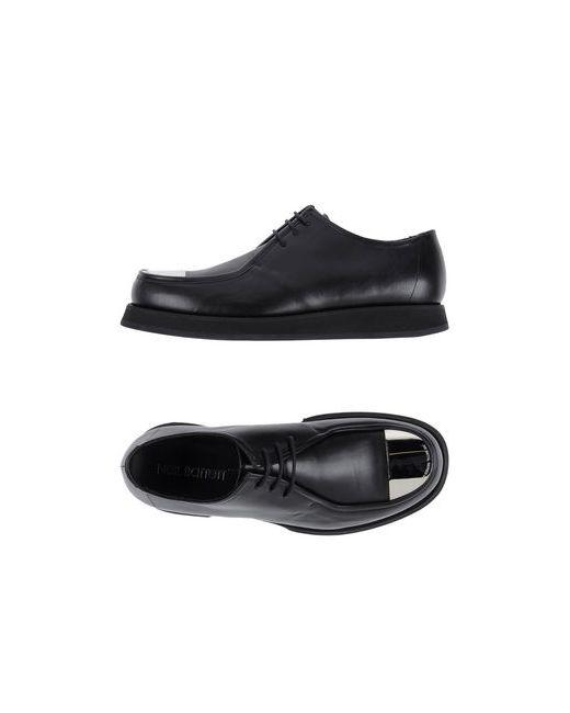 Neil Barrett | Мужская Чёрная Обувь На Шнурках
