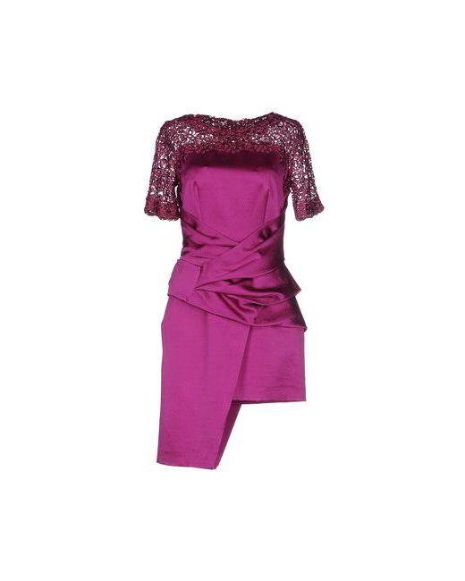 Blumarine | Женское Фиолетовое Короткое Платье