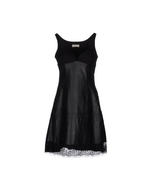 Pinko | Женское Чёрное Короткое Платье