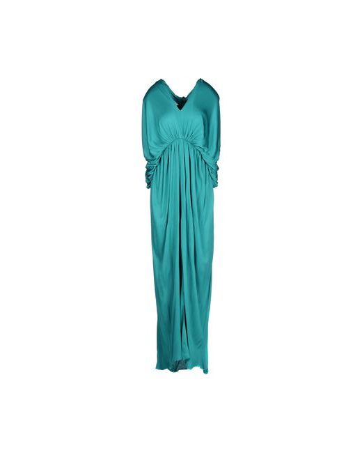 Lanvin | Женское Зелёное Длинное Платье