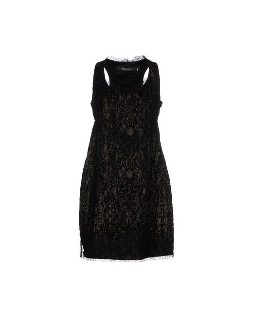 Ermanno Scervino | Женское Чёрное Короткое Платье