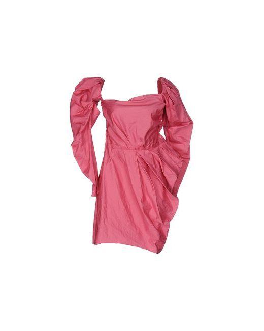 Lanvin | Женское Розовое Короткое Платье