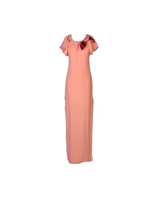 Lanvin | Женское Розовое Длинное Платье