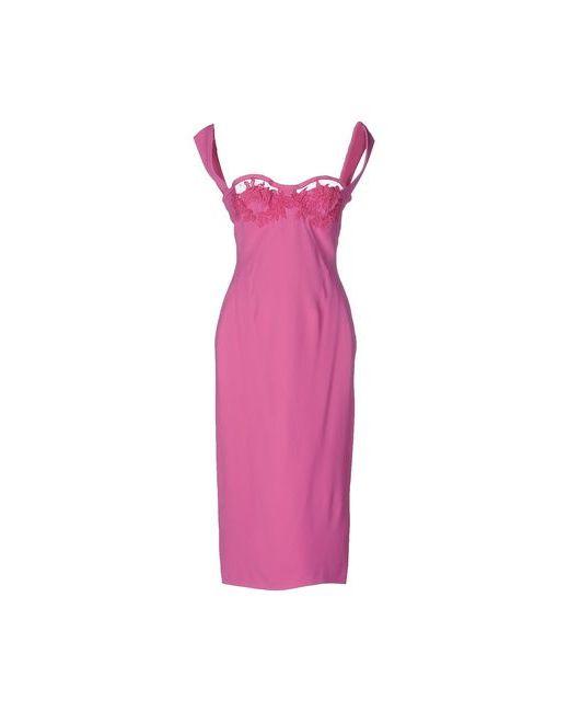 Dsquared2   Женское Фиолетовое Платье До Колена