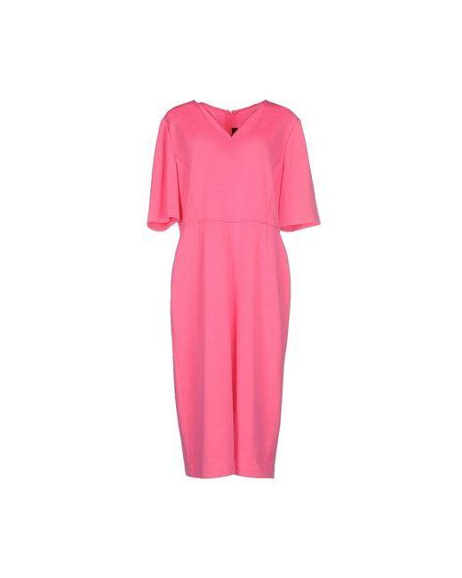 St. John | Женское Фиолетовое Платье До Колена