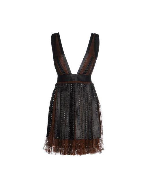Givenchy   Женское Коричневое Короткое Платье