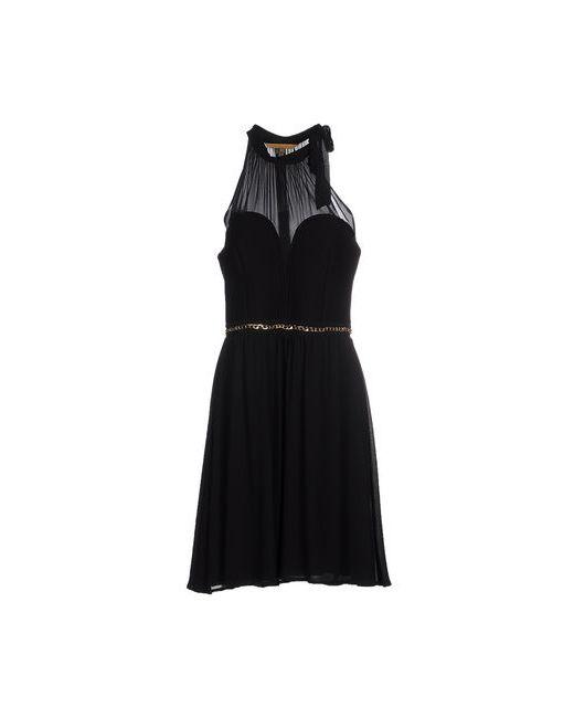 Silvian Heach   Женское Чёрное Платье До Колена
