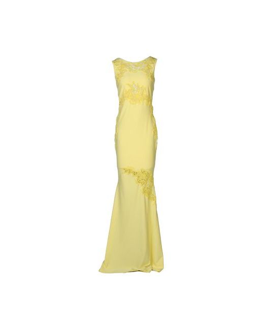 Ermanno Scervino   Женское Жёлтое Длинное Платье