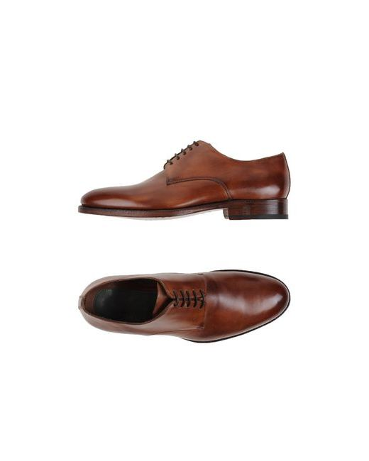 ZENOBI | Мужская Коричневая Обувь На Шнурках