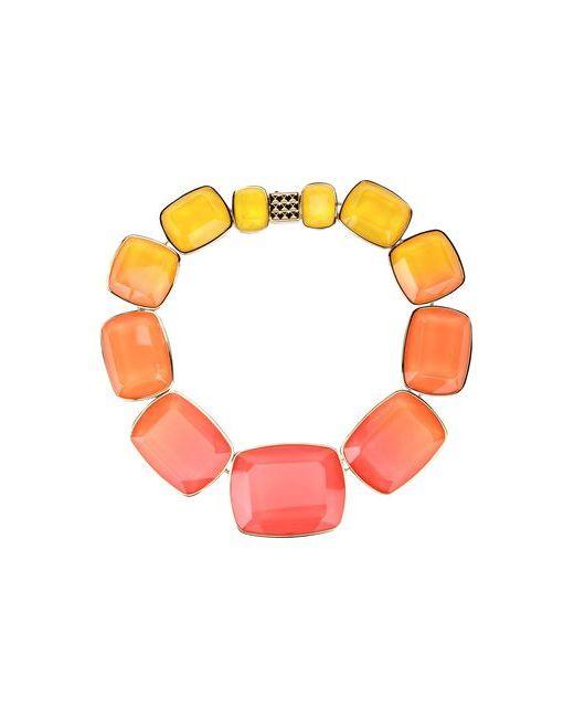Elie Saab   Женское Оранжевое Ожерелье