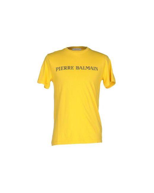 Pierre Balmain | Женская Жёлтая Футболка