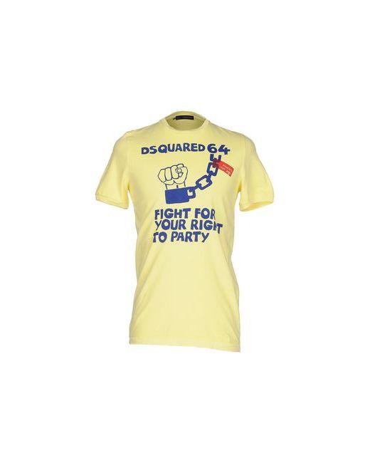 Dsquared2 | Женская Жёлтая Футболка