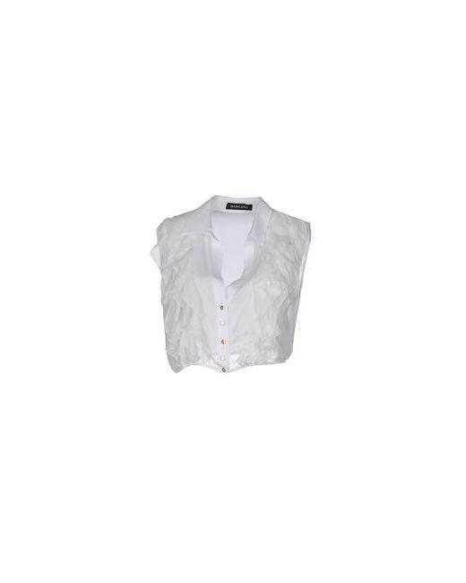 Mangano   Мужская Белая Pубашка