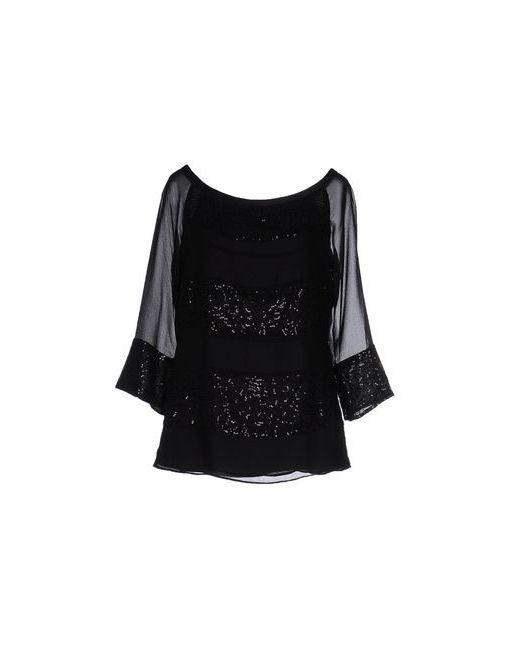 Liu •Jo | Женская Чёрная Блузка