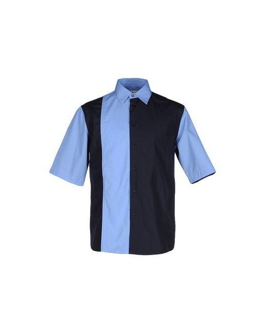Marni   Мужская Синяя Pубашка