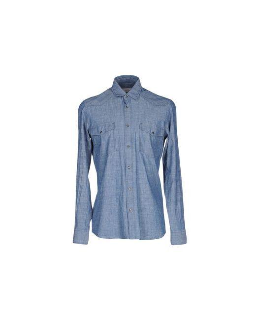 Mauro Grifoni | Мужская Синяя Pубашка