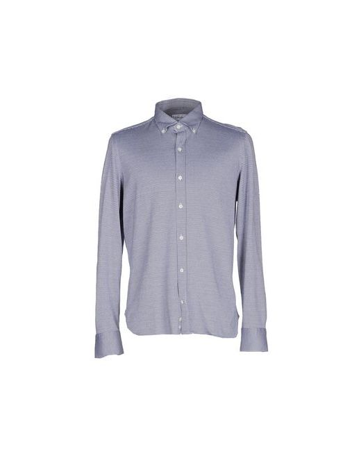 Giampaolo | Мужская Синяя Pубашка