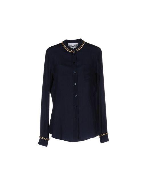 Moschino Couture   Мужская Синяя Pубашка