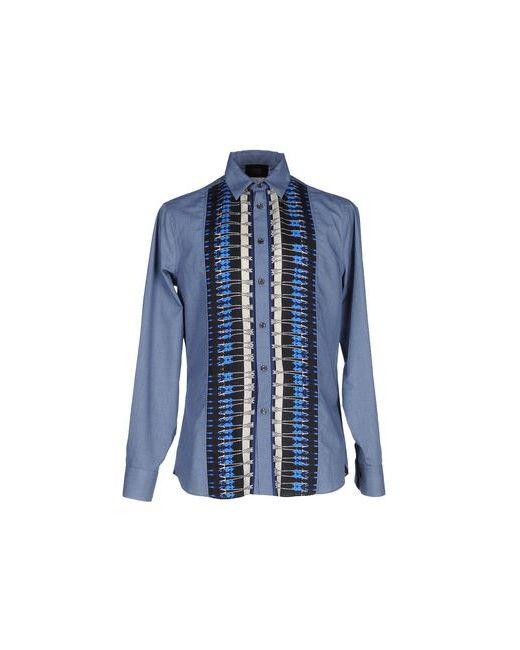 Class Roberto Cavalli | Мужская Синяя Pубашка
