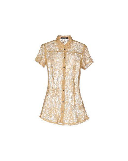 Dolce & Gabbana | Мужская Охра Pубашка