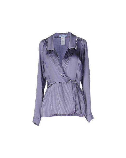 Blumarine | Женская Фиолетовая Блузка