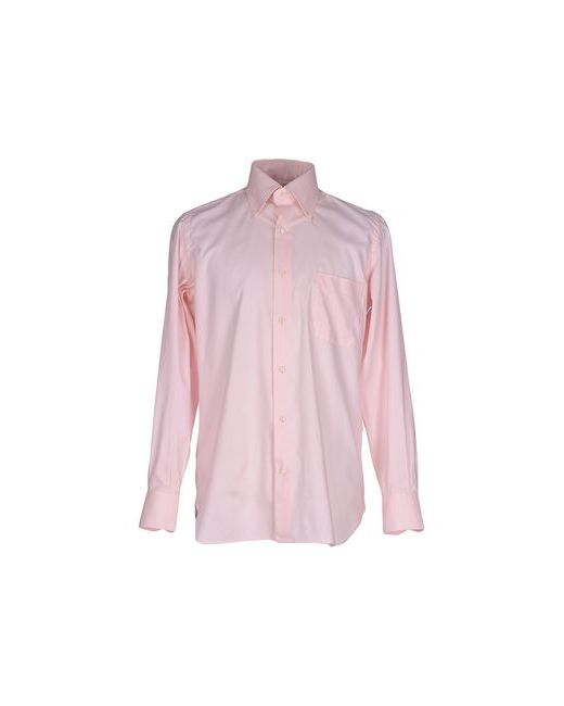 Giampaolo | Мужская Розовая Pубашка