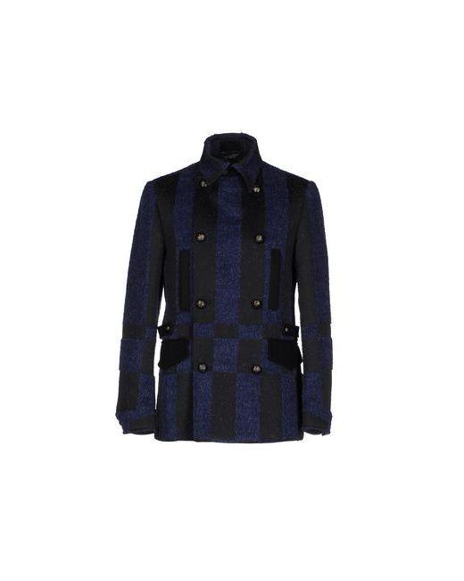 Class Roberto Cavalli | Мужское Синее Пальто