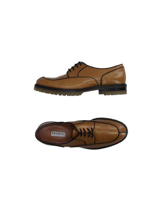 Fratelli Rossetti | Мужская Песочная Обувь На Шнурках