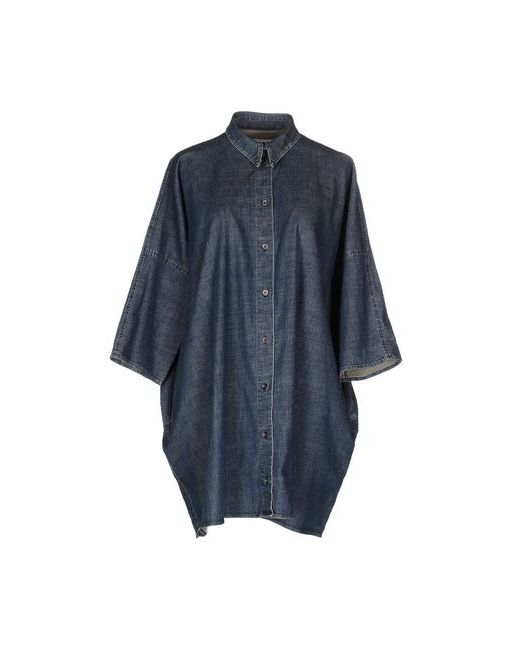 MM6 by Maison Margiela | Мужская Синяя Джинсовая Рубашка