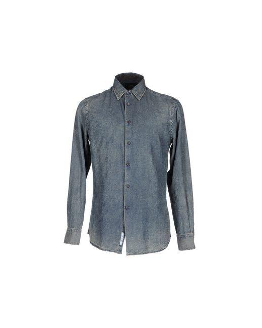 Class Roberto Cavalli | Мужская Синяя Джинсовая Рубашка