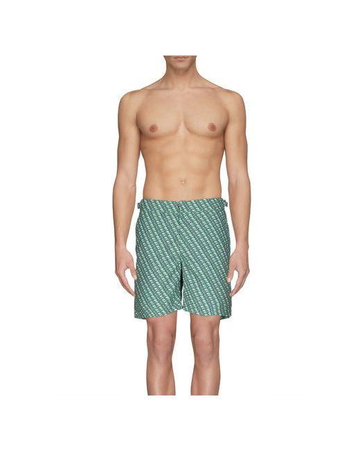 Orlebar Brown | Мужские Зелёные Шорты Для Плавания