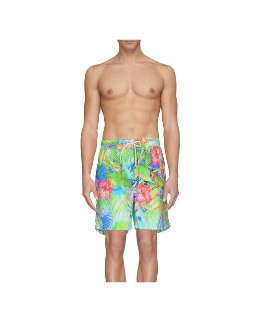 Polo Ralph Lauren | Мужские Зелёные Шорты Для Плавания