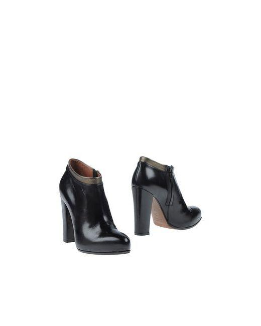L' Autre Chose   Женские Чёрные Ботинки