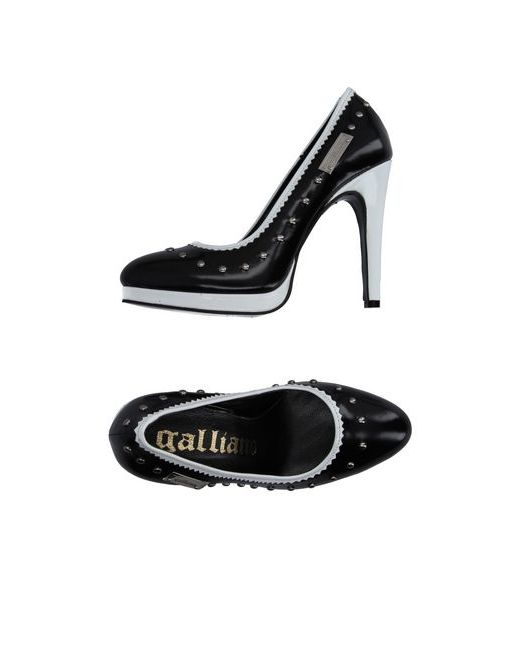 Galliano | Женские Чёрные Туфли