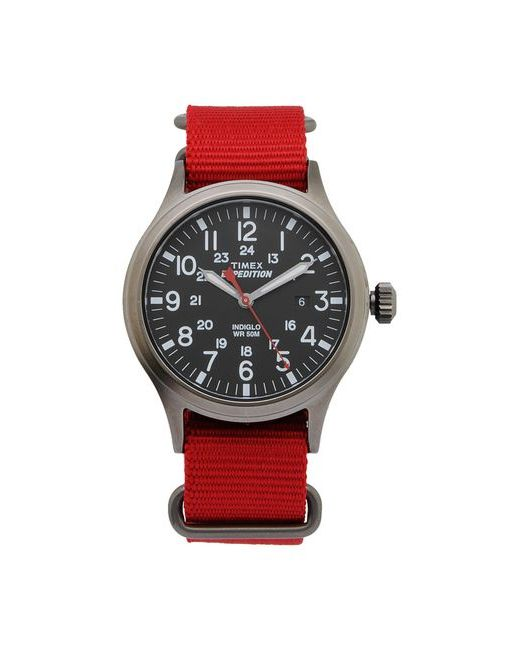 Timex | Красные Наручные Часы
