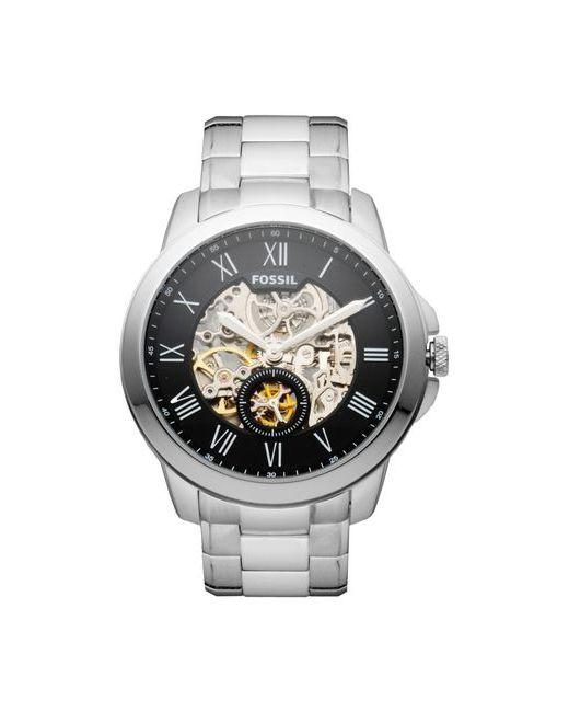Fossil | Серебристые Наручные Часы