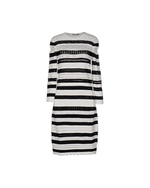 Alexander McQueen   Женское Белое Короткое Платье