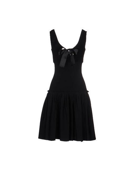 Alexander McQueen   Женское Чёрное Короткое Платье