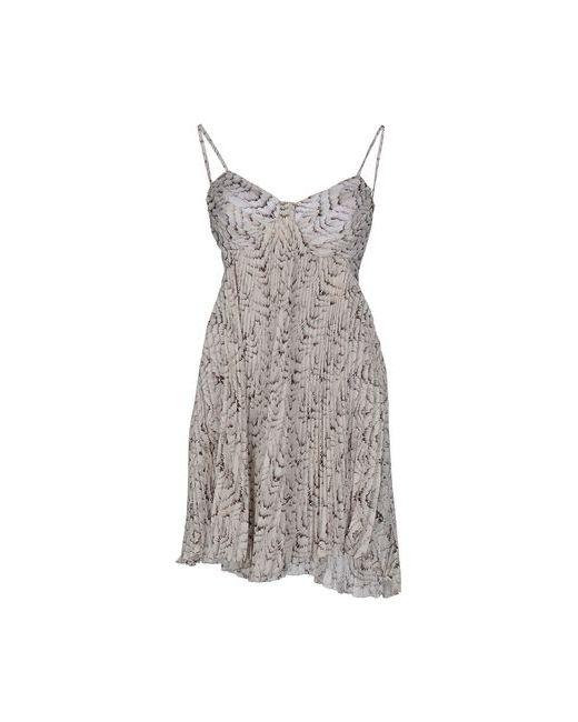 ELISABETTA FRANCHI   Женское Слоновая Костящее Короткое Платье