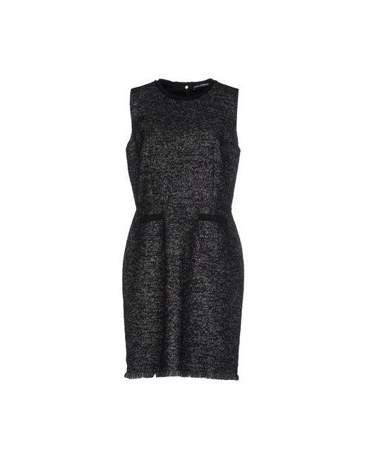 Dolce & Gabbana | Женское Чёрное Короткое Платье