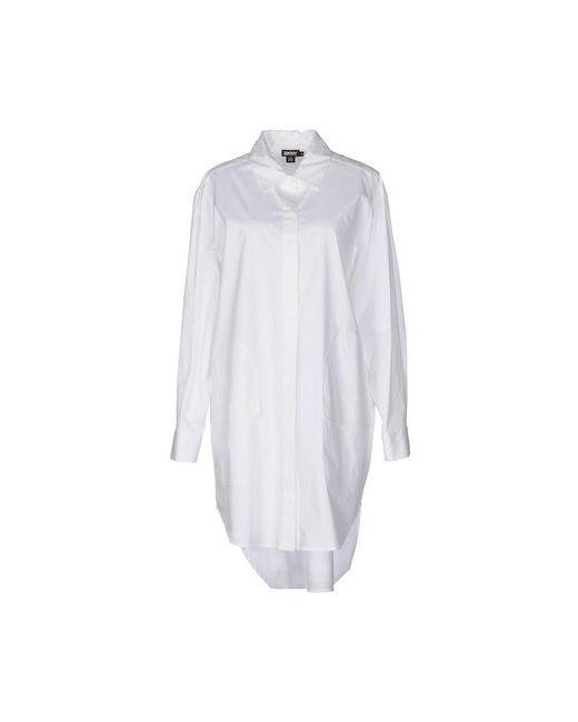 DKNY   Женское Белое Короткое Платье
