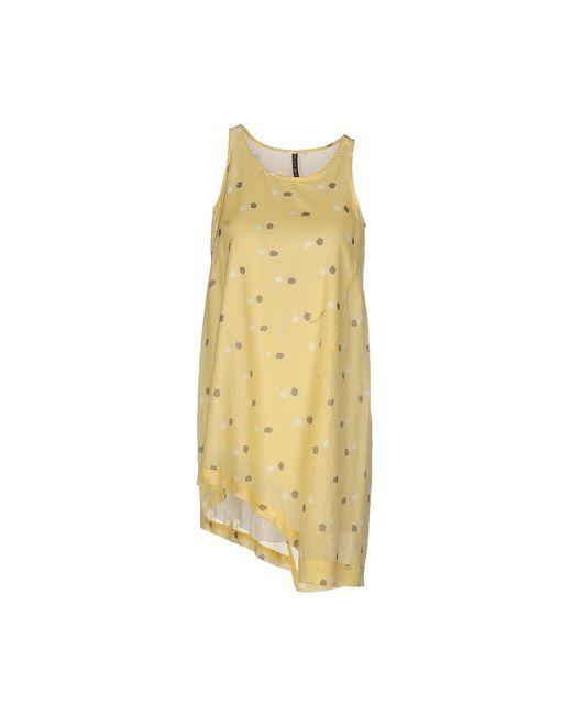 Manila Grace | Женское Жёлтое Короткое Платье