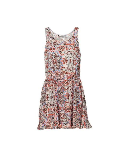 Silvian Heach | Женское Коричневое Короткое Платье