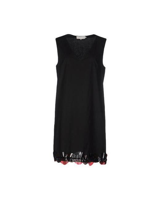 L' Autre Chose | Женское Чёрное Короткое Платье
