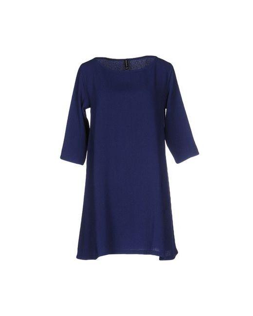 Pour Moi | Женское Синее Короткое Платье