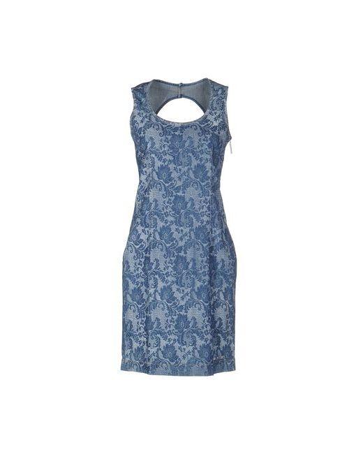 Blugirl Folies   Женское Синее Короткое Платье